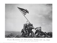 Flag Raising on Iwo Jima, February 23, 1945 Fine-Art Print