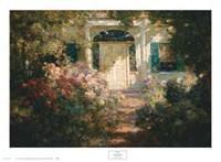 Doorway and Garden Fine-Art Print