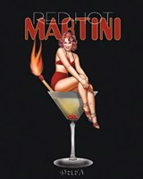 Red Hot Martini Fine-Art Print