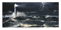Lightning at the Lighthouse Fine-Art Print