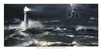 Lightning at the Lighthouse Fine-Art Print