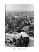 Bresson - View from the Towers of Notre Dame Fine-Art Print