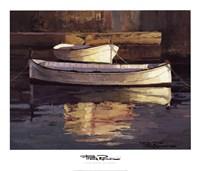 Barcas al Atardecer Fine-Art Print