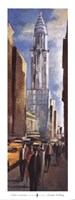 Chrysler Building - street view Fine-Art Print