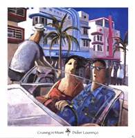 Cruising in Miami Fine-Art Print