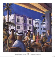 Breakfast in Miami Fine-Art Print