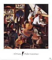 El Piano Fine-Art Print