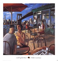 Cafe by the River Fine-Art Print