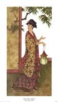 Lady with a Lantern Fine-Art Print