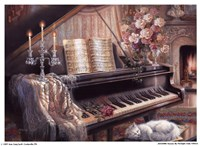 Sonata By Firelight (Mini) Fine-Art Print