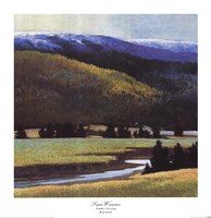 Foothills In The Late Spring Fine-Art Print