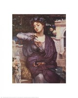Libra and Her Sparrow 1907 Fine-Art Print