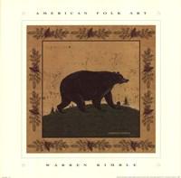 Folk Bear Fine-Art Print