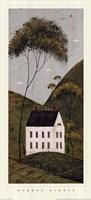 Country Panel III - House Fine-Art Print