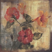 Flamboyant Hibiscus II Fine-Art Print