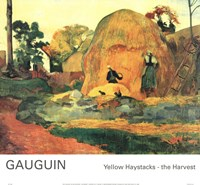 Yellow Haystacks-the Harvest Fine-Art Print
