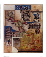 Rome Collage Fine-Art Print