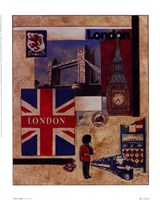 London Collage Fine-Art Print