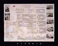 Titanic Deck Plan Fine-Art Print