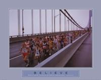 Believe - Marathon Runners Fine-Art Print
