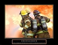 Excellence - Three Firemen Fine-Art Print