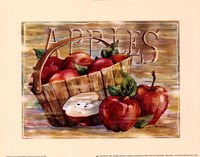 Fruit Stand Apples Fine-Art Print