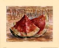 Fruit Stand Watermelon Fine-Art Print