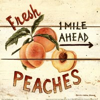 Fresh Peaches Fine-Art Print