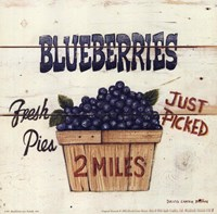 Blueberries Just Picked Fine-Art Print