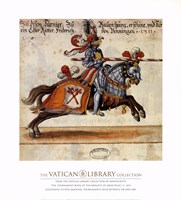 Knight With Red Javelin Fine-Art Print