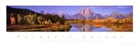 Nature's Colors - Grand Teton Range Fine-Art Print
