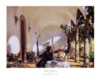 Breakfast In The Loggia Fine-Art Print