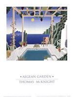 Aegean Garden Fine-Art Print