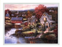 Cozy Country Night Fine-Art Print