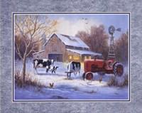 Winter Chores Fine-Art Print