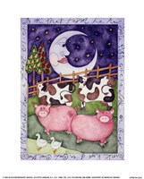 Old Macdonald Pigs Fine-Art Print