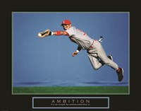 Ambition - Baseball Player Fine-Art Print