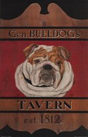 General Bulldog's Tavern Fine-Art Print