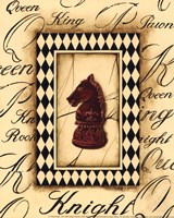 Chess Knight - Mini Fine-Art Print