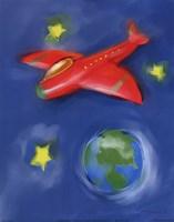 Space Plane Fine-Art Print