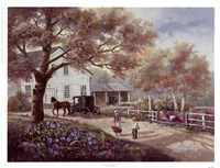 Amish Country Home Fine-Art Print