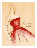 Red Dress I Fine-Art Print