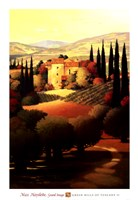 Green Hills of Tuscany II Fine-Art Print