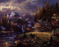 Mountain Hideaway Fine-Art Print