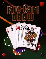Five Card Draw Fine-Art Print