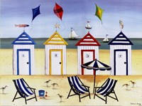 Beach Houses Fine-Art Print