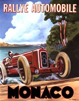 Monaco Rallye Fine-Art Print