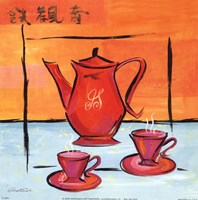 Asian Tea Set I Fine-Art Print