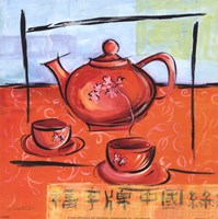 Asian Tea Set II Fine-Art Print