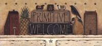 Primitive Welcome Fine-Art Print